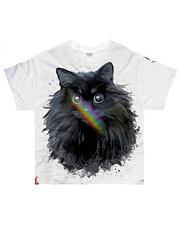 BLACK CAT All-over T-Shirt front