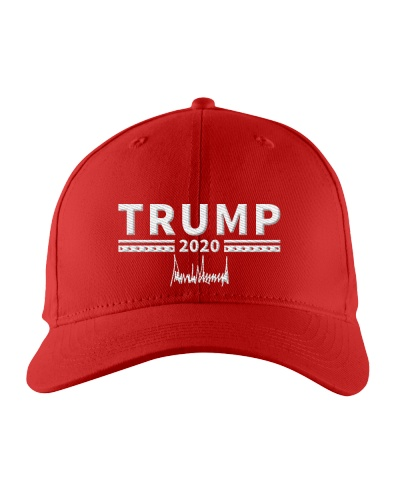 TRUMP 2020  SIGNED BY TRUMP