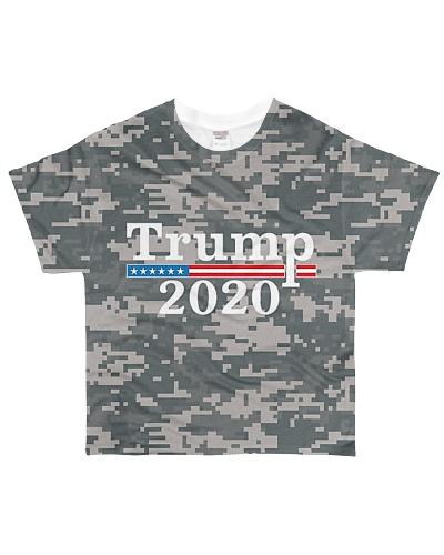 CAMO TRUMP 2020 SHIRT