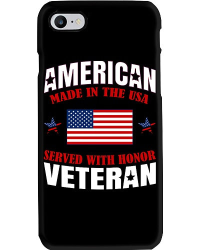 SERVED WITH HONOR VETERAN