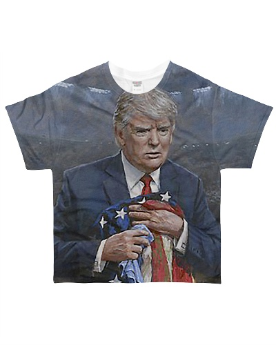 PRESIDENT TRUMP PROTECTING OUR COUNTRY 3D SHIRT