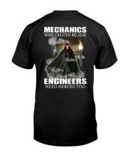 Mechanic hero Classic T-Shirt back