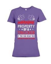 TRUCKER Premium Fit Ladies Tee thumbnail