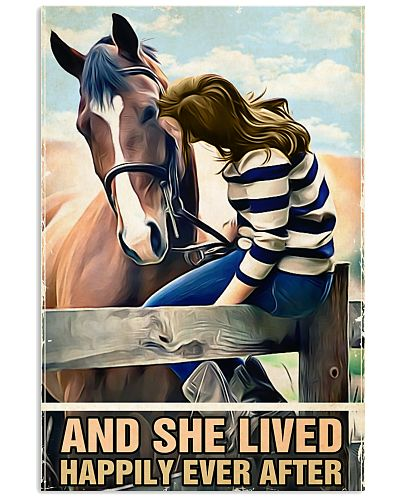 Horse And she lived happily ever after