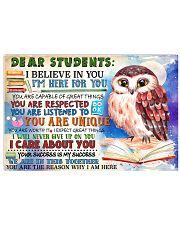 Teacher 17x11 Poster front