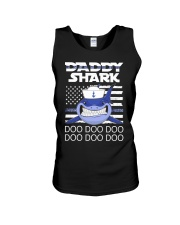 Sailor shark Unisex Tank thumbnail