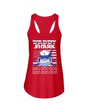 Sailor shark Ladies Flowy Tank front
