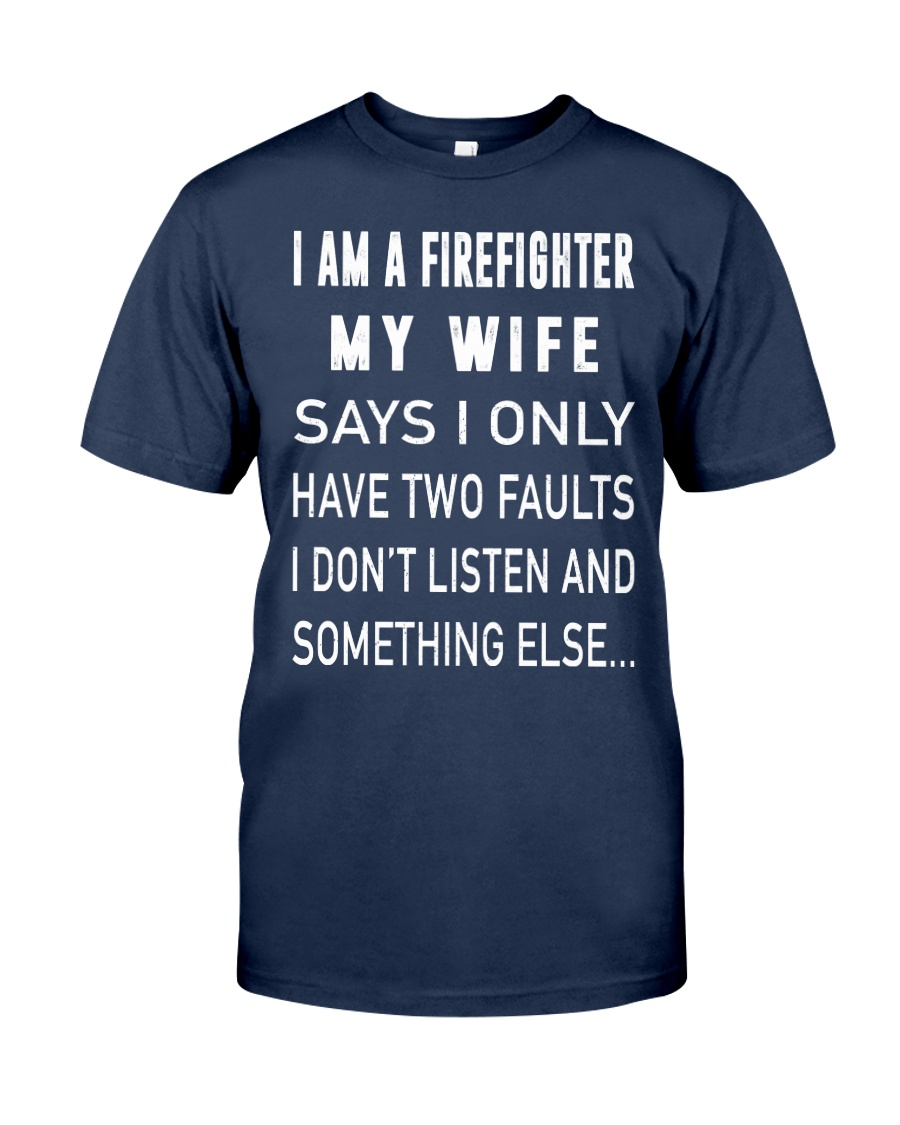 Firefighter Dad Classic T-Shirt