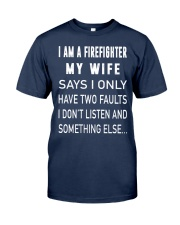 Firefighter Dad Classic T-Shirt front