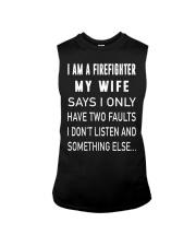 Firefighter Dad Sleeveless Tee thumbnail