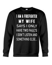 Firefighter Dad Crewneck Sweatshirt thumbnail
