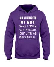Firefighter Dad Hooded Sweatshirt thumbnail
