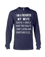 Firefighter Dad Long Sleeve Tee thumbnail