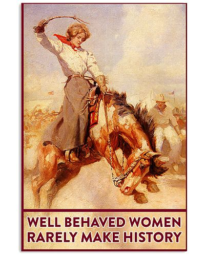 Horse Well behaved women