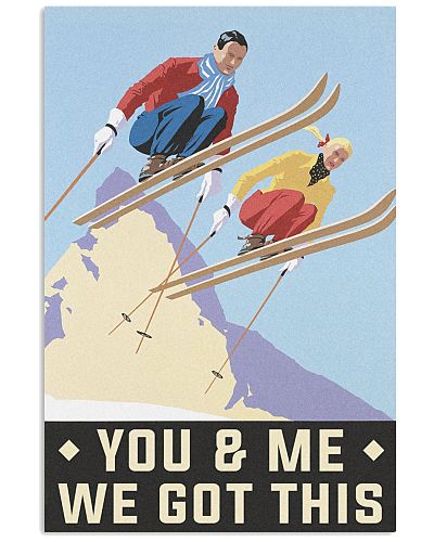 Skiing You and me