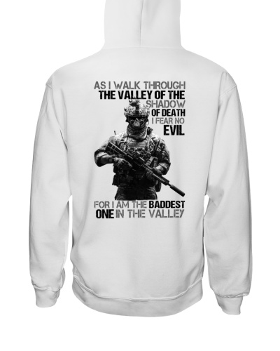 Veteran as i walk through the valley of the shadow