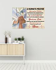 A Nurse's Prayer 36x24 Poster poster-landscape-36x24-lifestyle-01