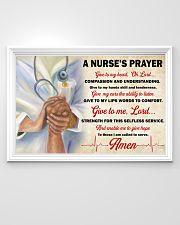 A Nurse's Prayer 36x24 Poster poster-landscape-36x24-lifestyle-02