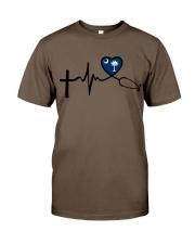 Faith Live Love South Carolina Nurse Classic T-Shirt thumbnail