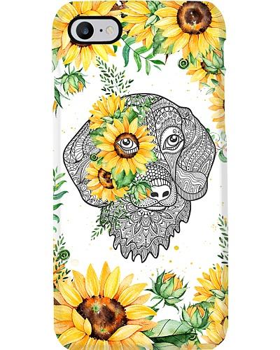 Dachshund Sunflower