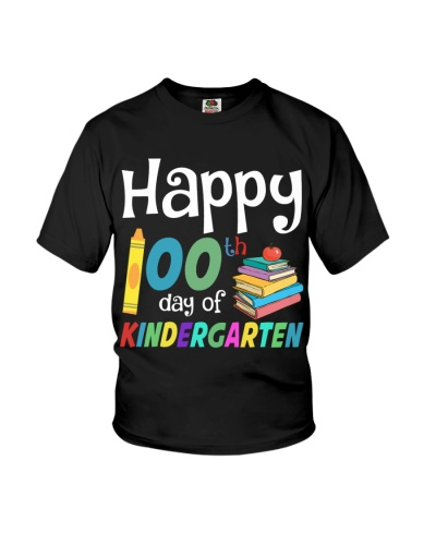 Teacher 100th day of kindergarten