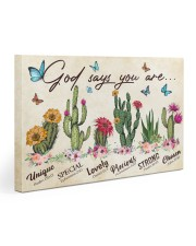 Cactus God says you are 30x20 Gallery Wrapped Canvas Prints thumbnail