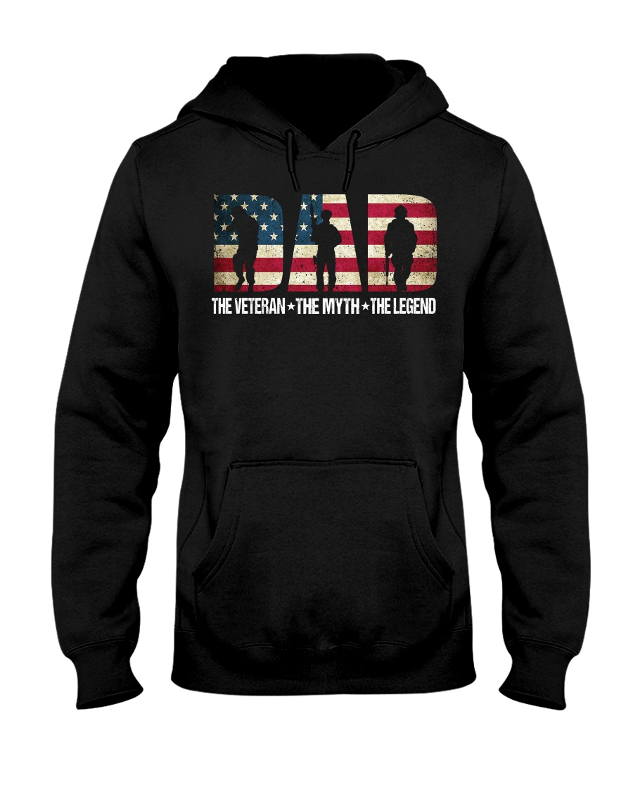 Veteran Dad Hooded Sweatshirt