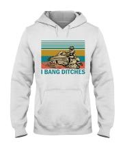 Snowmobile  Hooded Sweatshirt front
