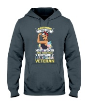 Veteran Woman Hooded Sweatshirt thumbnail