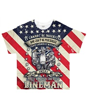 Lineman  All-over T-Shirt front