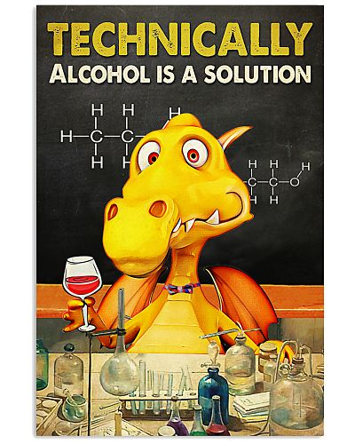 Wine Technically alcohol is a solution