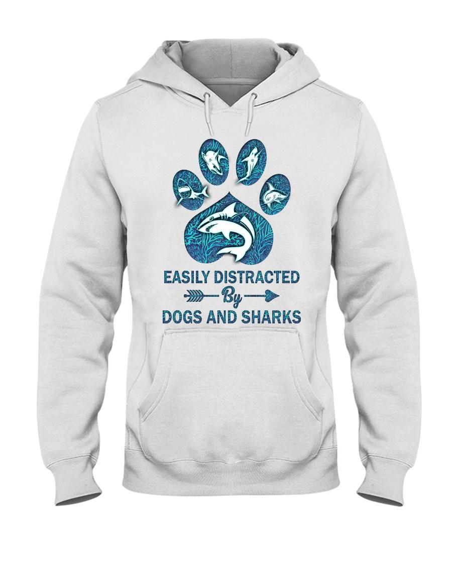 Dog Shark Hooded Sweatshirt