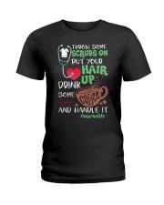 Nurse Hair Ladies T-Shirt front