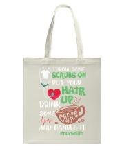Nurse Hair Tote Bag thumbnail