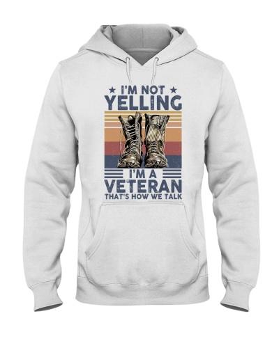 Veteran Yelling