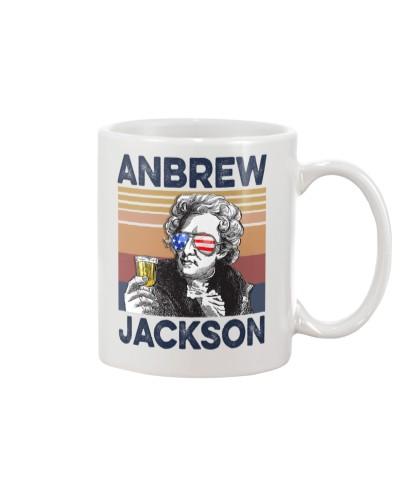 DrinkMugWhite Anbrew Jackson