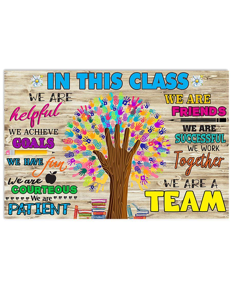 Teacher In this class 17x11 Poster