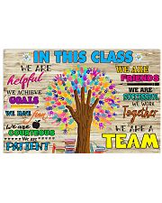 Teacher In this class 17x11 Poster front