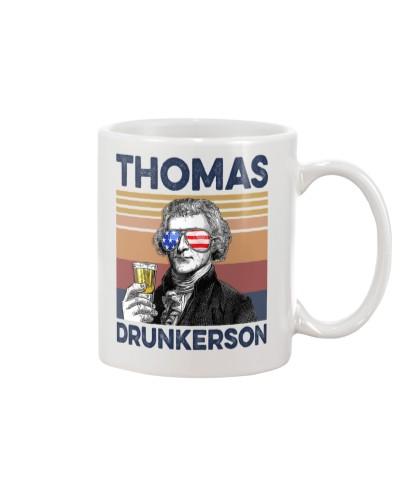 DrinkMugWhite Thomas Drunkerson
