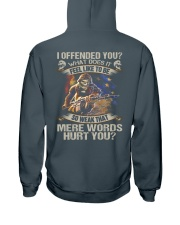 I offended you  Hooded Sweatshirt thumbnail