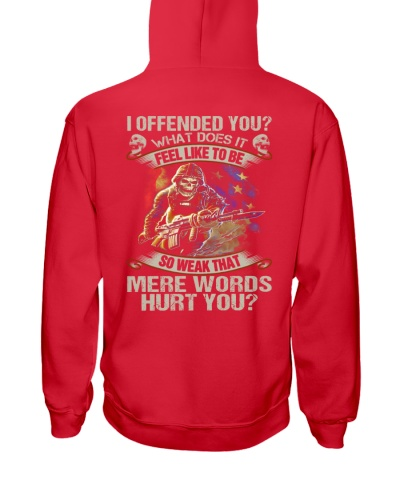 I offended you