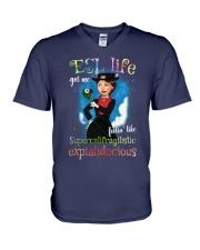 esl V-Neck T-Shirt thumbnail