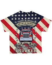 Trucker Title All-over T-Shirt back