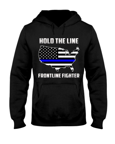 Police Hold The Line