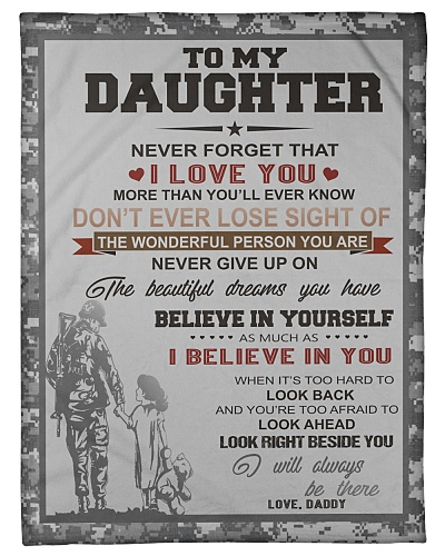 Army To my daughter