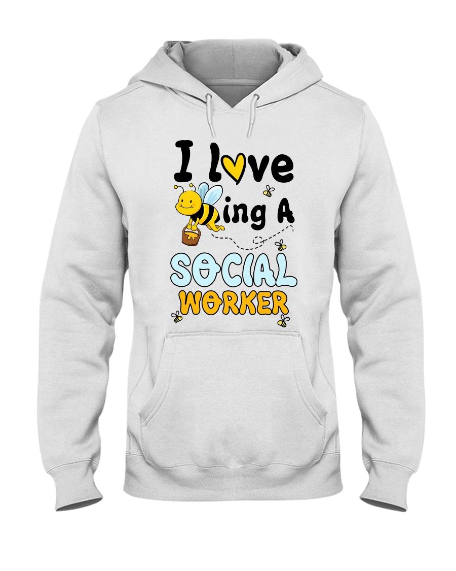 Social worker Beeing Hooded Sweatshirt