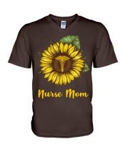 Nurse Mom V-Neck T-Shirt thumbnail
