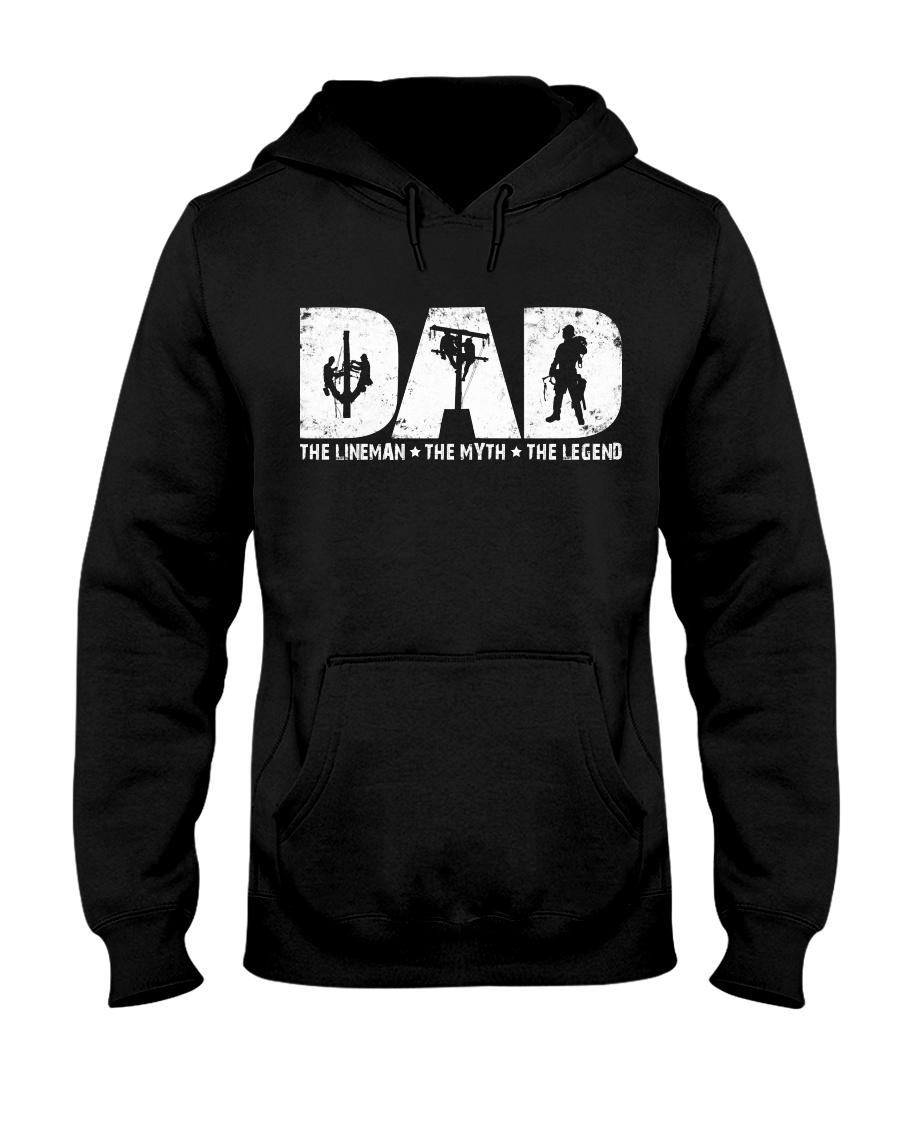 Dad  - The Lineman Hooded Sweatshirt