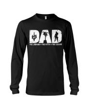 Dad  - The Lineman Long Sleeve Tee thumbnail