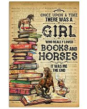 Horse And Book  11x17 Poster front